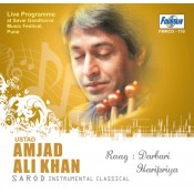 Amjad Ali Khan (Classical Instrumental) - Audio CD