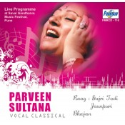 Praveen Sultana (Vocal Classical) - Audio CD