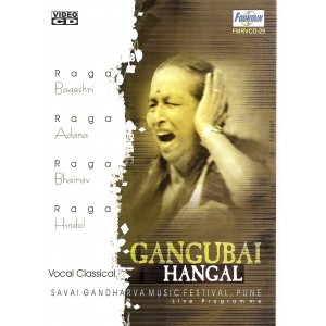 Vocal Classical by Gangubai Hangal - VCD
