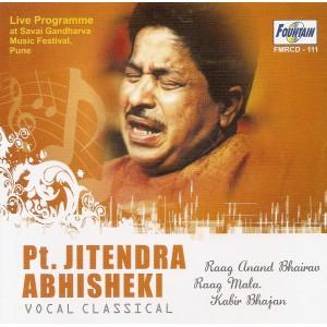 Jitendar Abhisheki - Audio CD