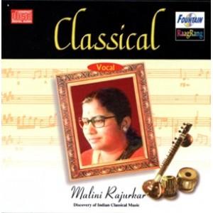 Classical Vocal by Malini Rajurkar  - Audio CD