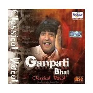 Pandit Ganpati Bhat - Classical Vocal - Audio CD