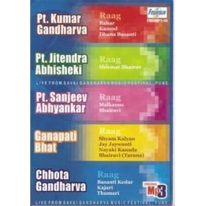 Raag by Pt. Kumar Gandharva, Pt. Jitendra Abhisheki & others - MP3