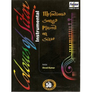 Colour Of Sitar - कलर ऑफ सितार - Audio CD