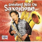 Greatest Hits On Saxophone (Vol 1) - Audio CD