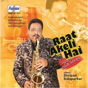 Raat Akeli Hai (Hits of club songs) Instrumental Audio CD