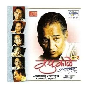 Va Pu Kale Kathakathan (Vol 7) - व. पु. काळे कथाकथन (भाग ७) - Audio CD