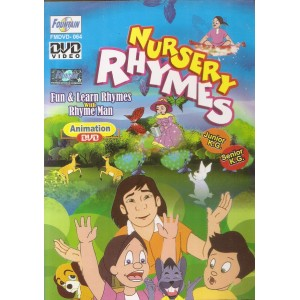 Nursery Rhymes Junior K G Senior K G - DVD