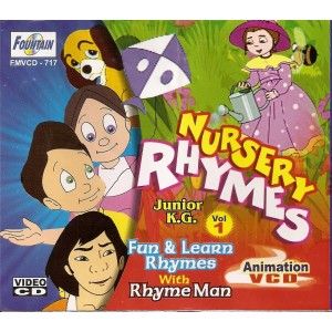 Nursery Rhymes Junior KG (Vol 1) - VCD