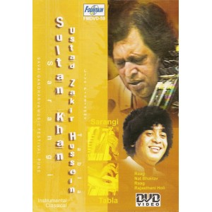 Classical Instrumental by Sultan Khan & Zakir Hussein - DVD